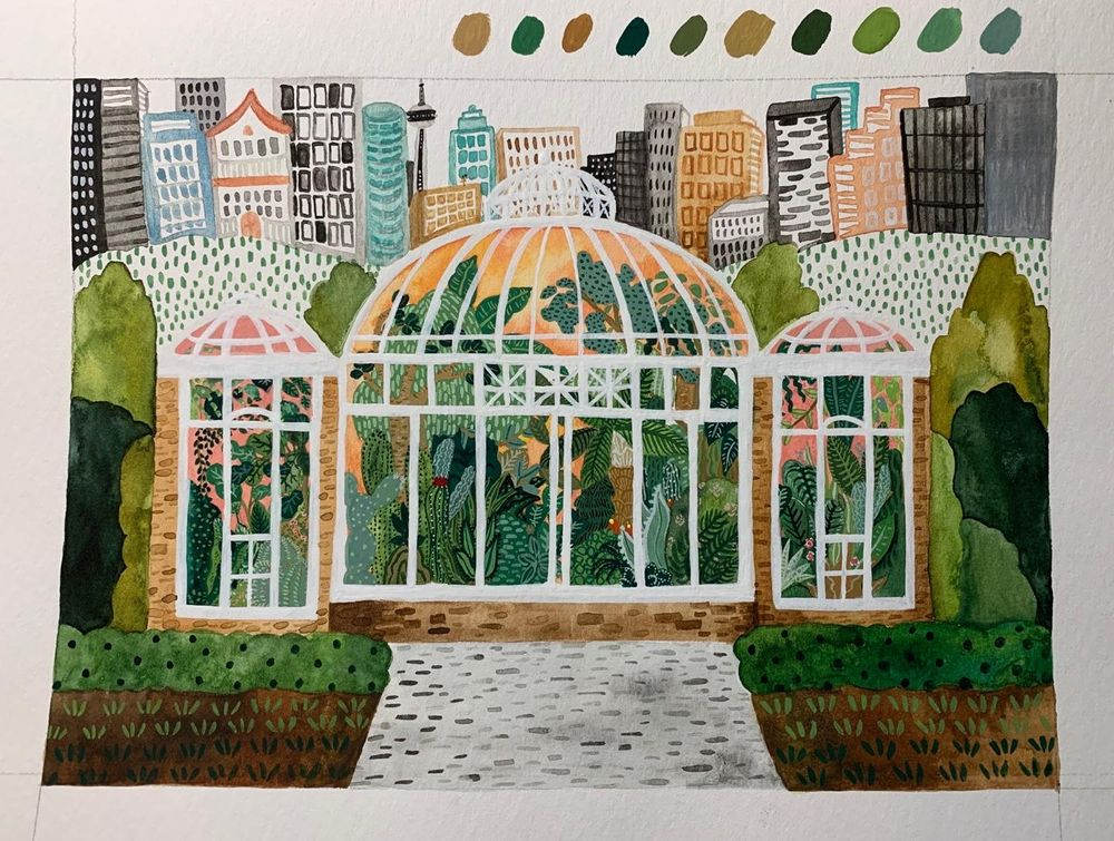 Allen Gardens Conservatory, Toronto Canada - image 7 - student project