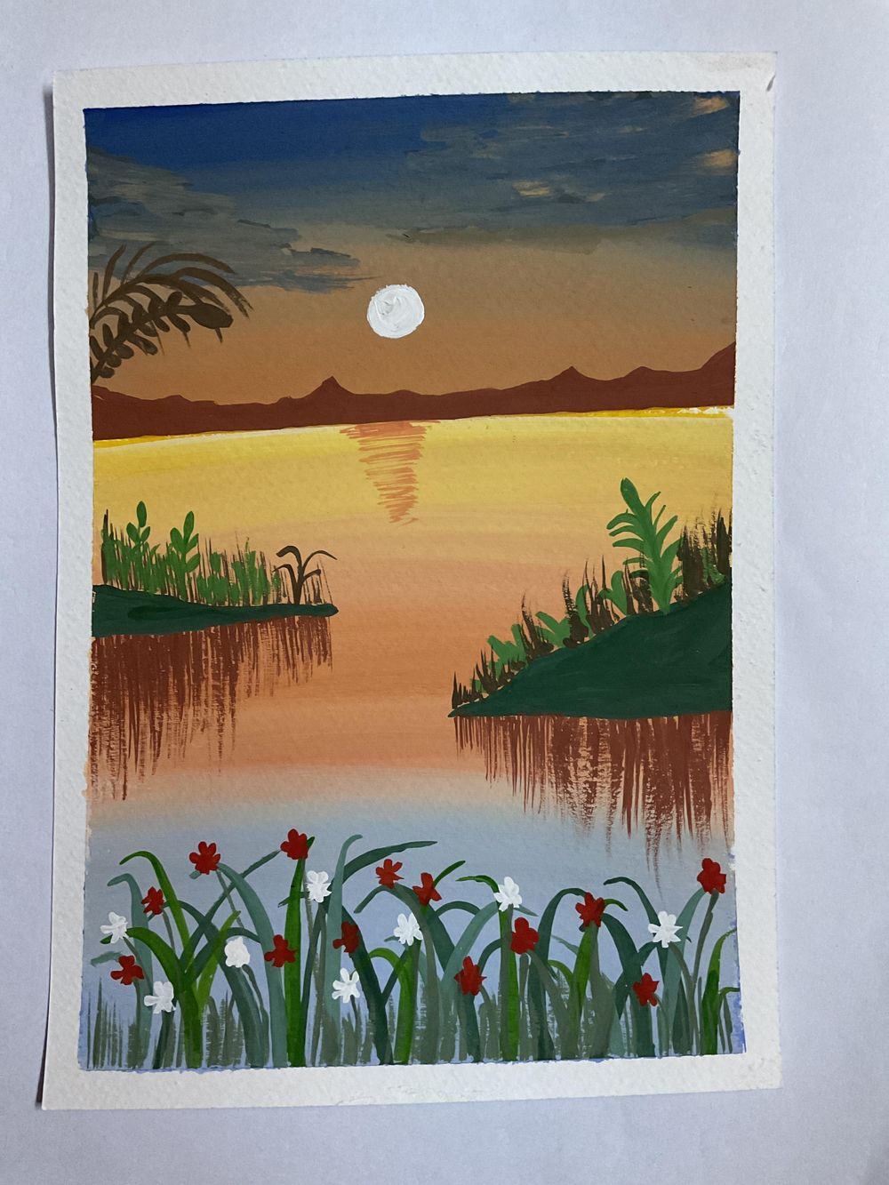 Sunset class project - image 1 - student project