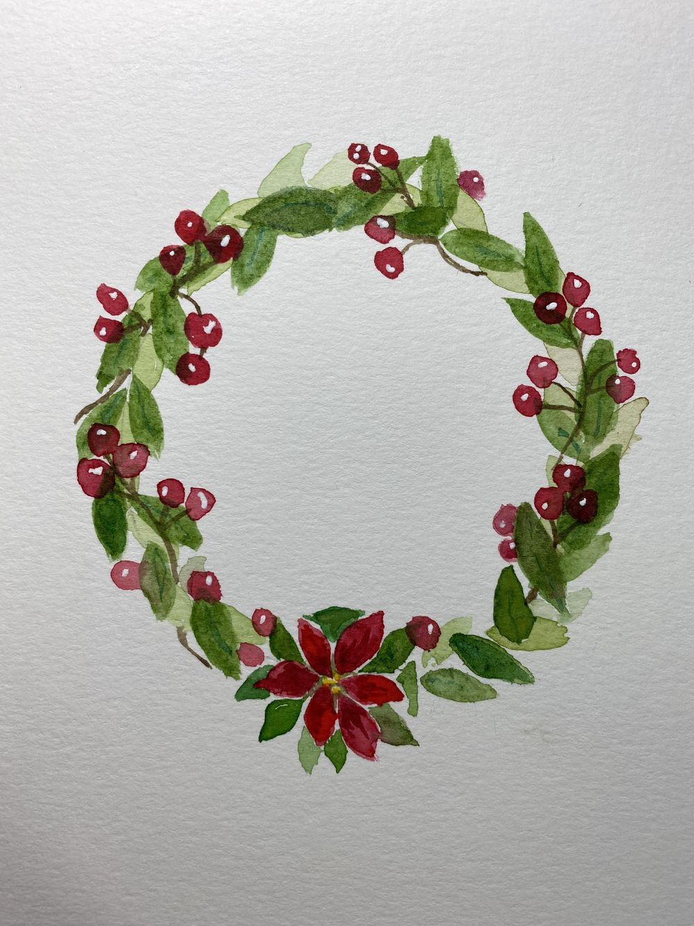 Winter wreath - image 1 - student project