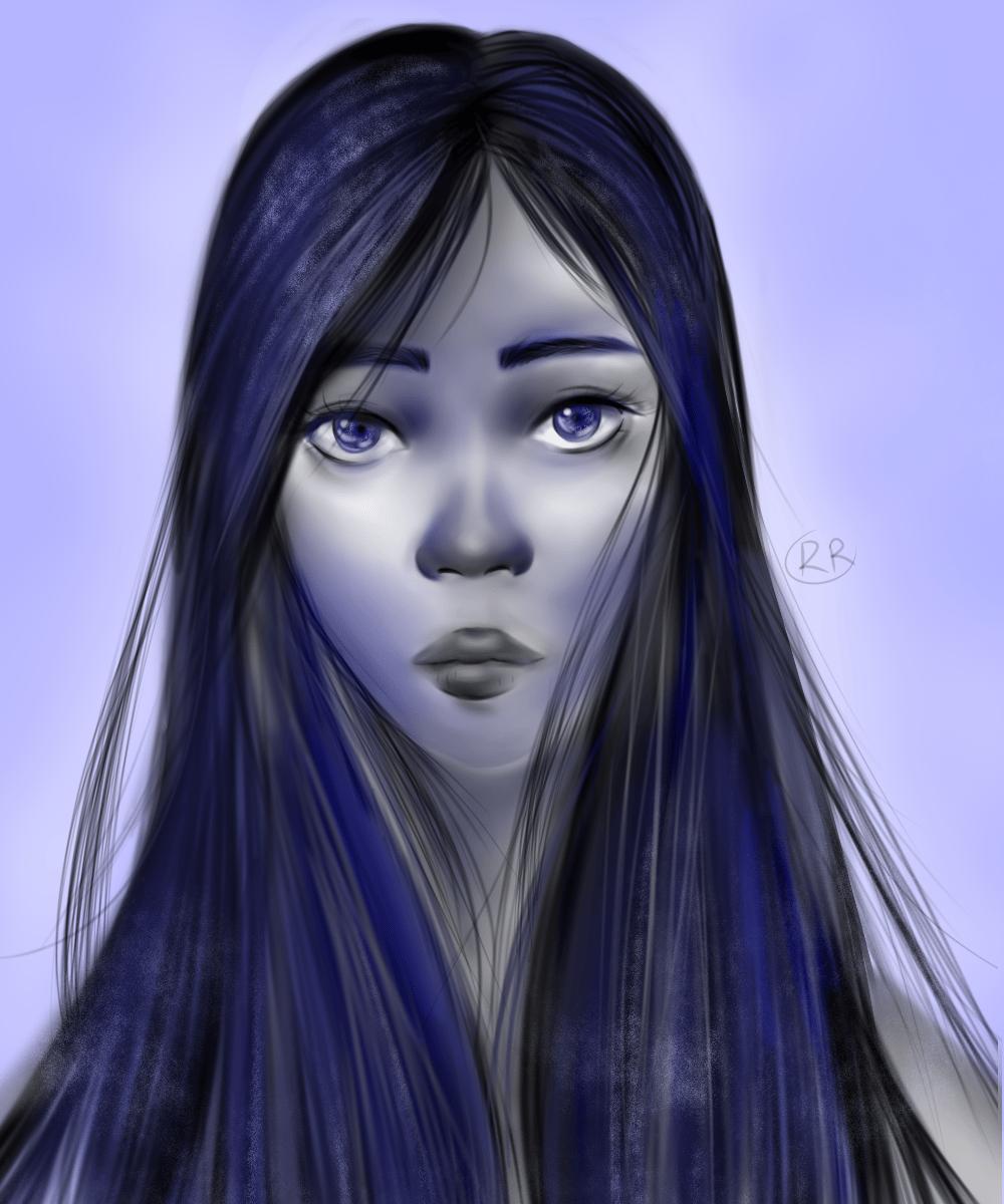 Character Portrait - image 1 - student project