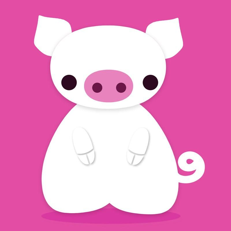 Cute Pig  - image 1 - student project