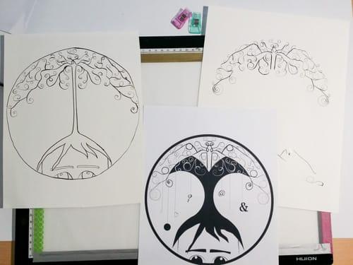 My symbolic portrait - image 5 - student project