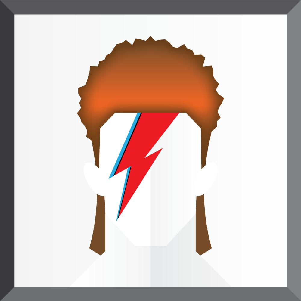 The Many Faces of David Bowie - image 4 - student project