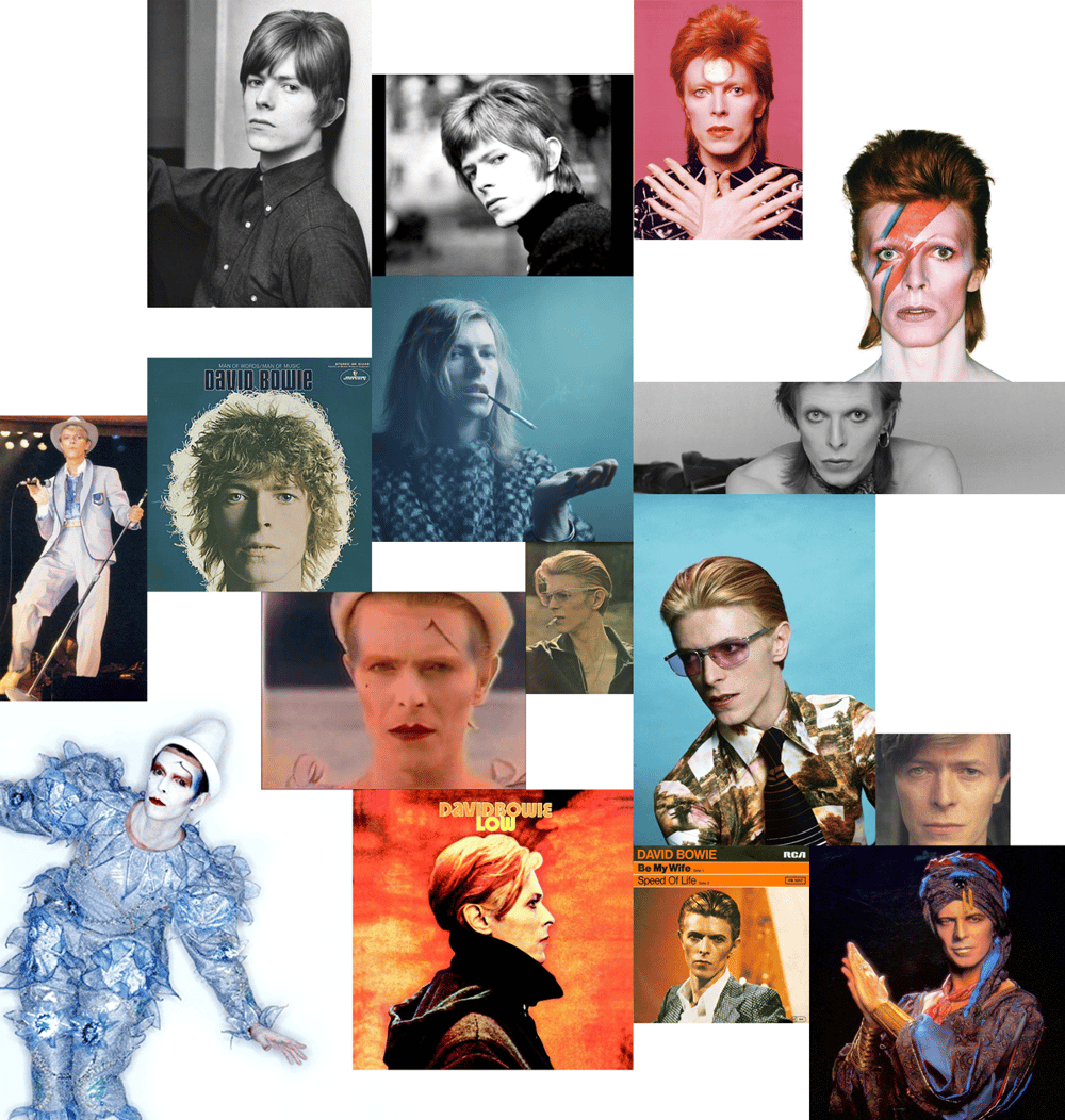 The Many Faces of David Bowie - image 16 - student project