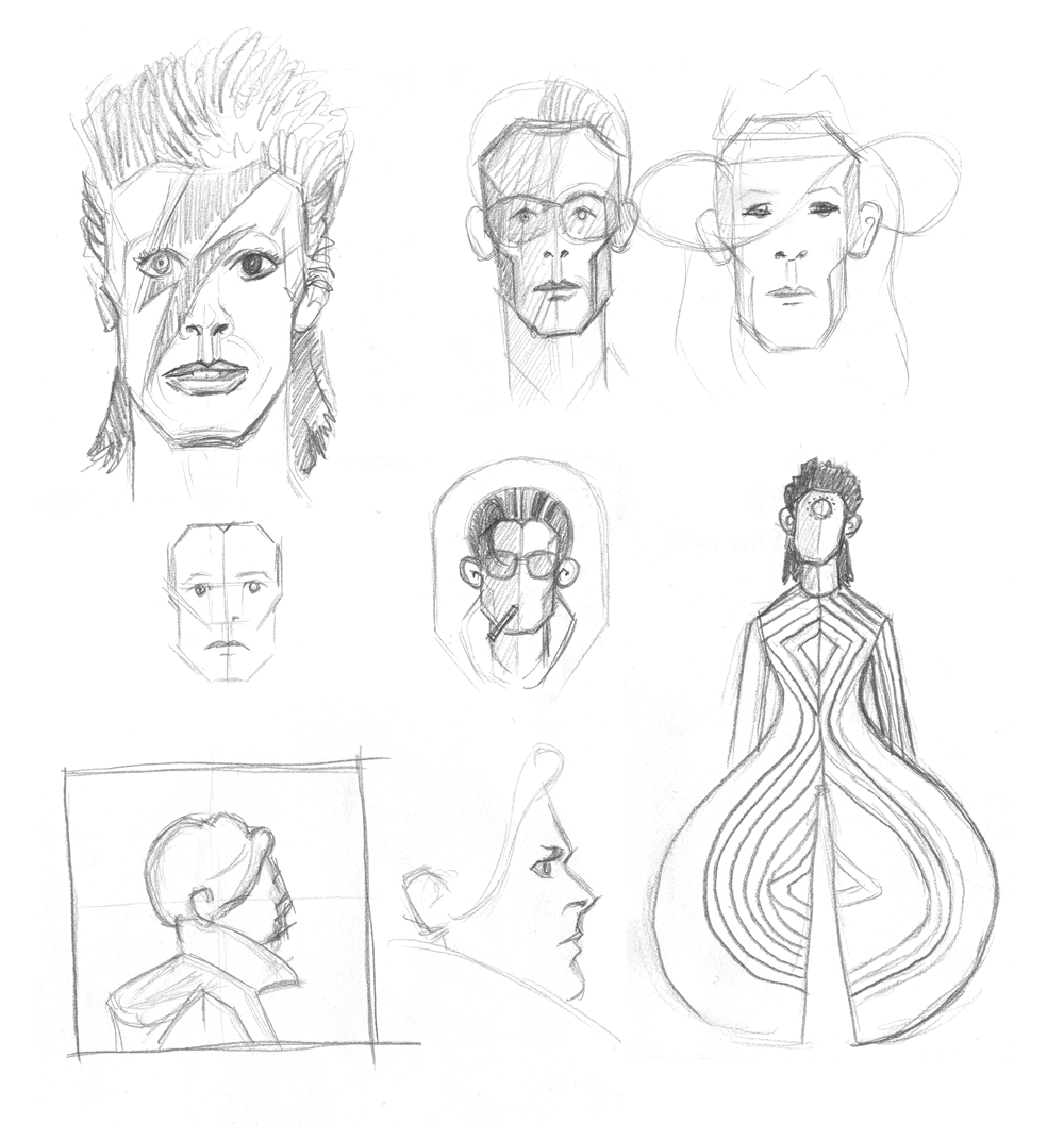 The Many Faces of David Bowie - image 7 - student project