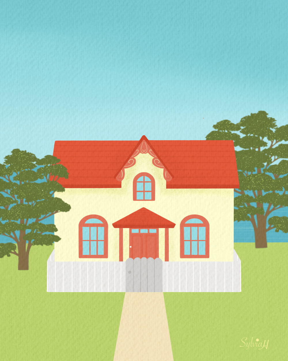 Dream House - image 1 - student project