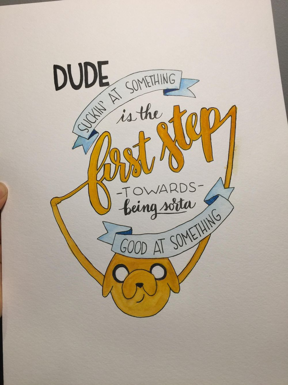 Adventure Time Quote - image 3 - student project