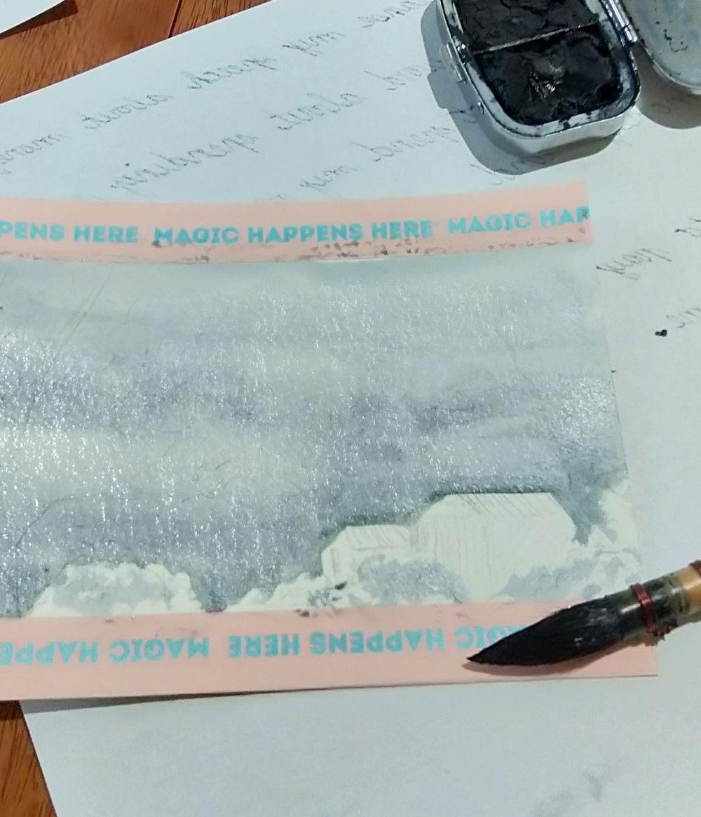Indigo Postcard Close up - image 1 - student project