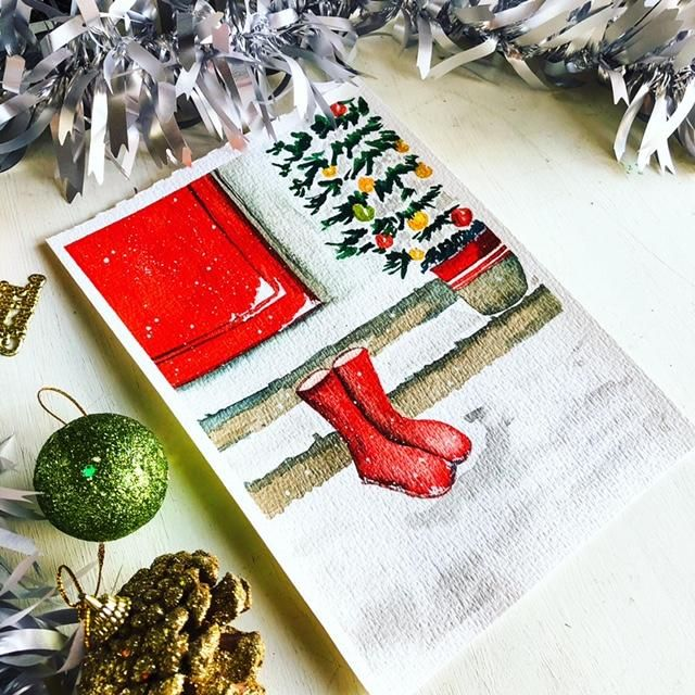 Christmas boots - image 1 - student project