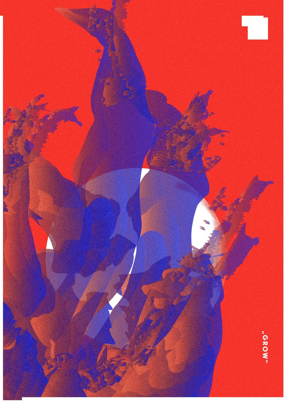 Experimental Poster Design - image 2 - student project