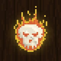 Skull on Fire - image 2 - student project