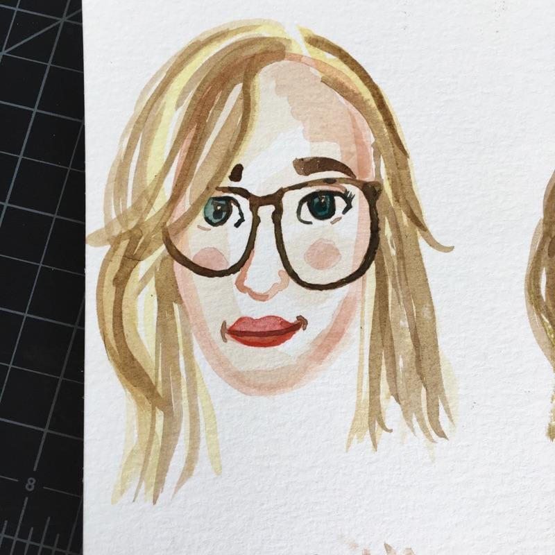 Self Portrait - image 3 - student project