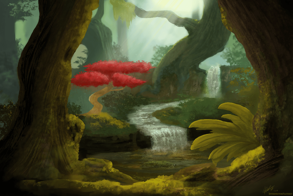Hidden Path, Epic Valley, Ironwood Forest - image 3 - student project