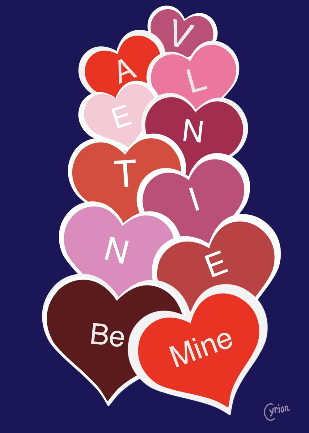Valentine Cards - image 4 - student project