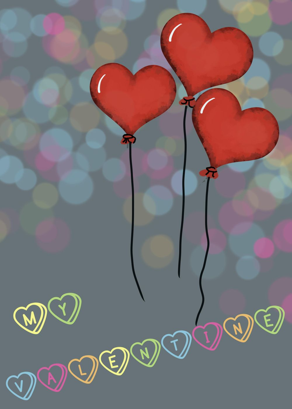 Valentine Cards - image 1 - student project