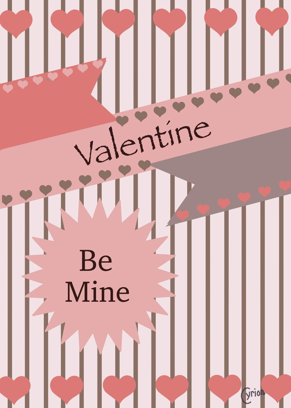 Valentine Cards - image 3 - student project