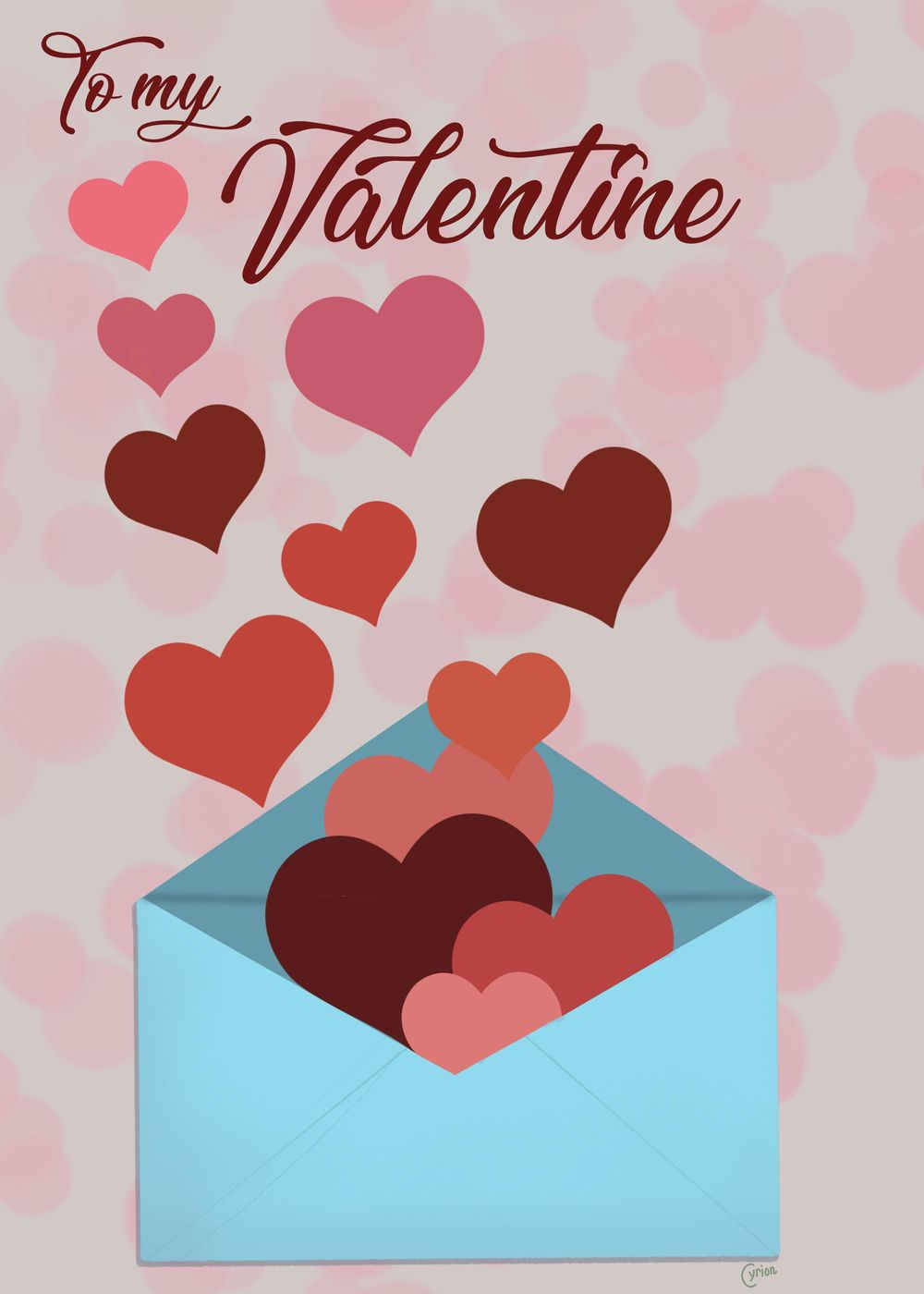Valentine Cards - image 5 - student project