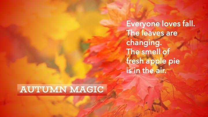 Autumn Magic - image 1 - student project