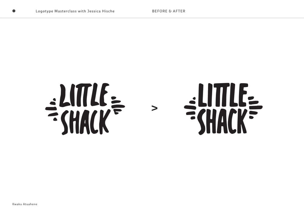 Little Shack Logotype - image 5 - student project
