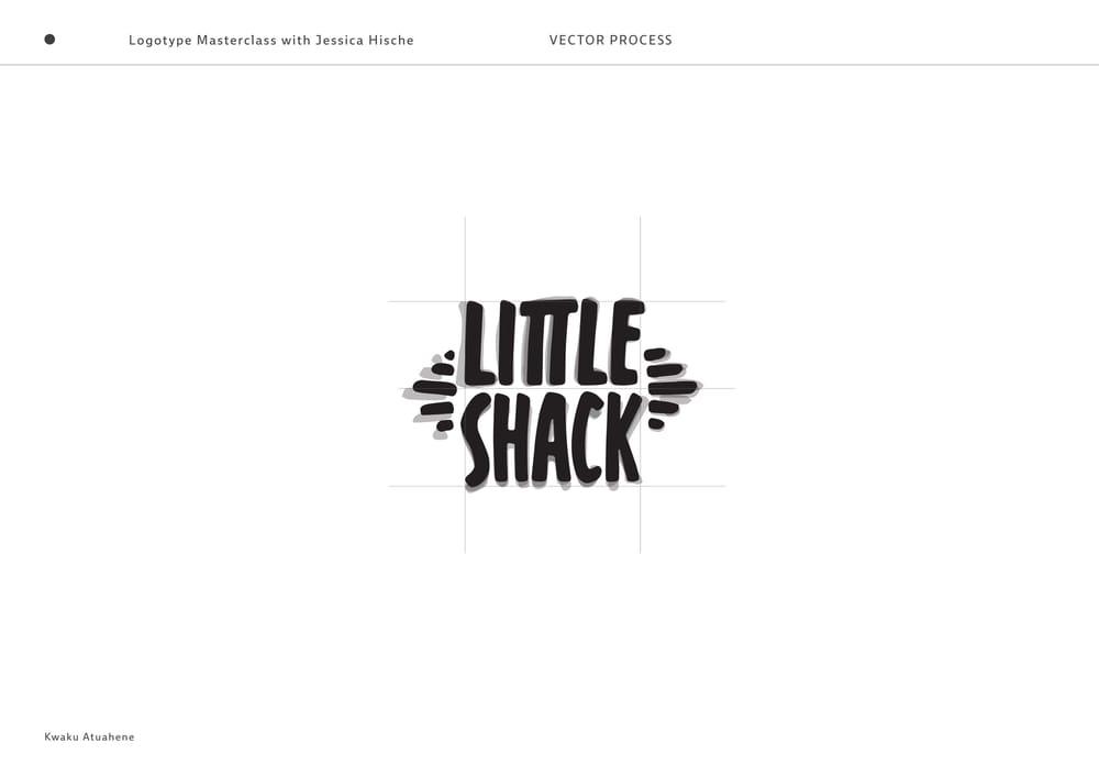 Little Shack Logotype - image 4 - student project