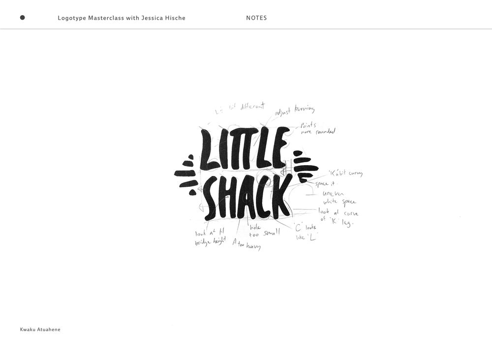 Little Shack Logotype - image 2 - student project