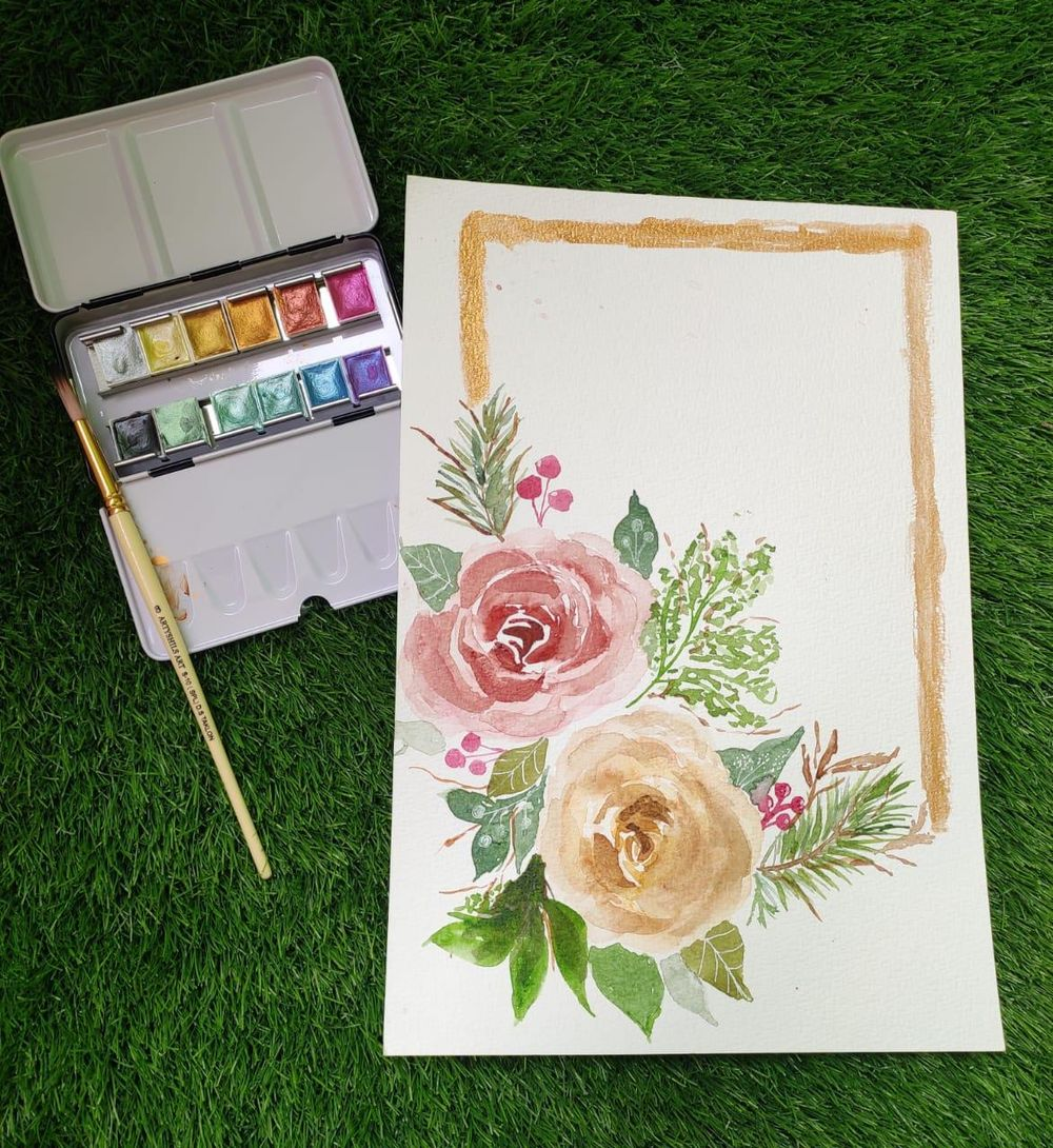 Holiday Florals - image 2 - student project