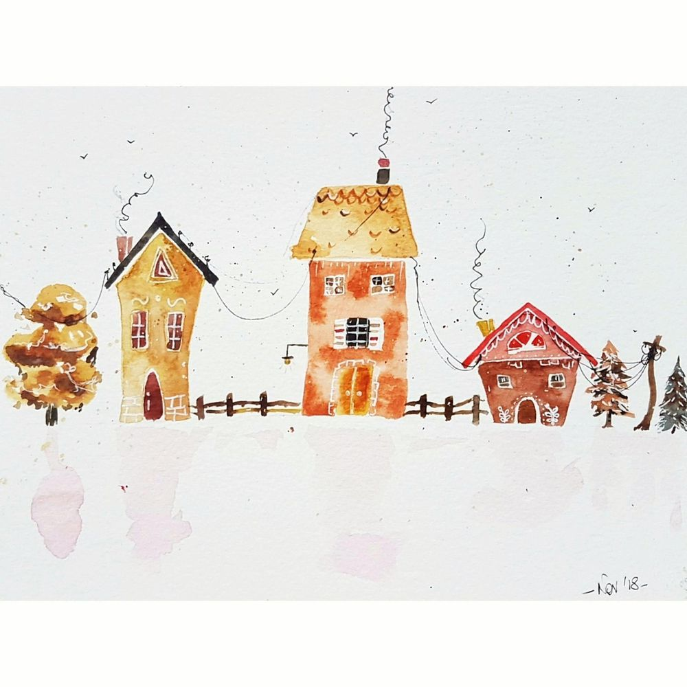 Gingerbread houses - image 1 - student project