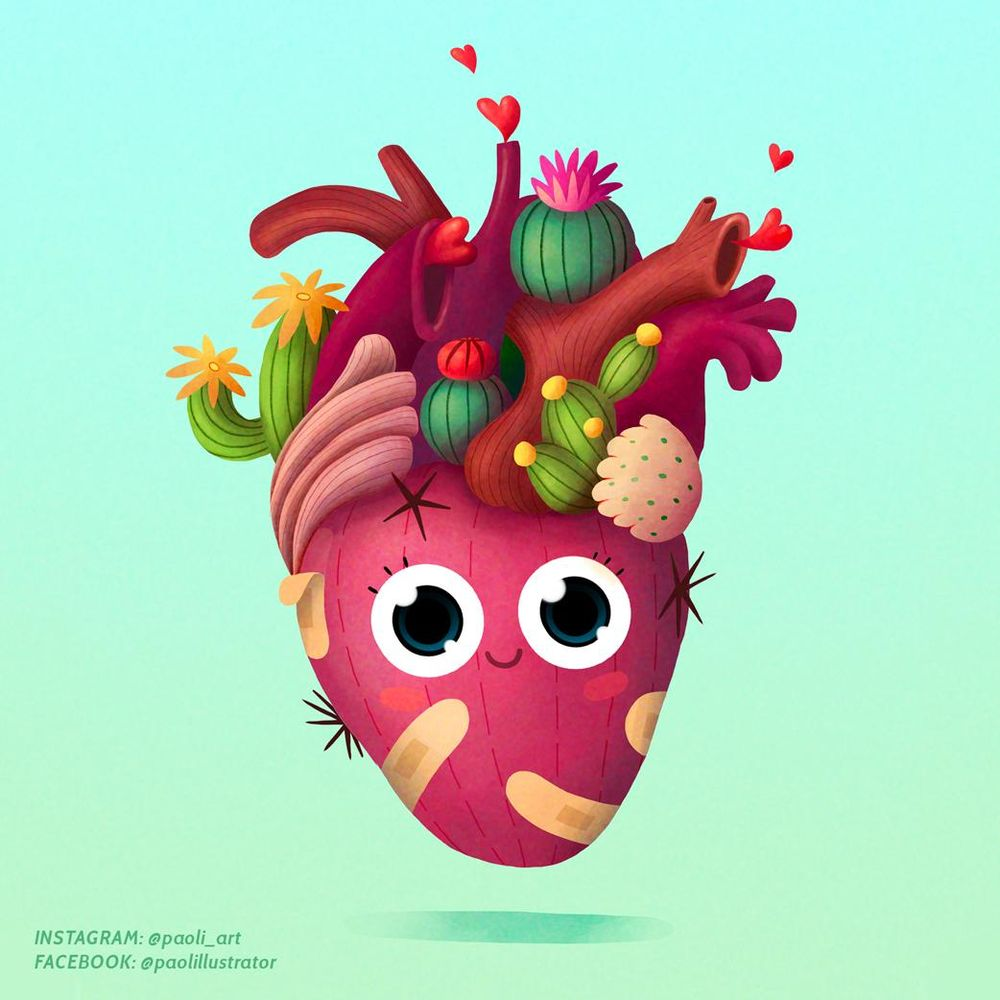 Little heart in a good mood - image 1 - student project