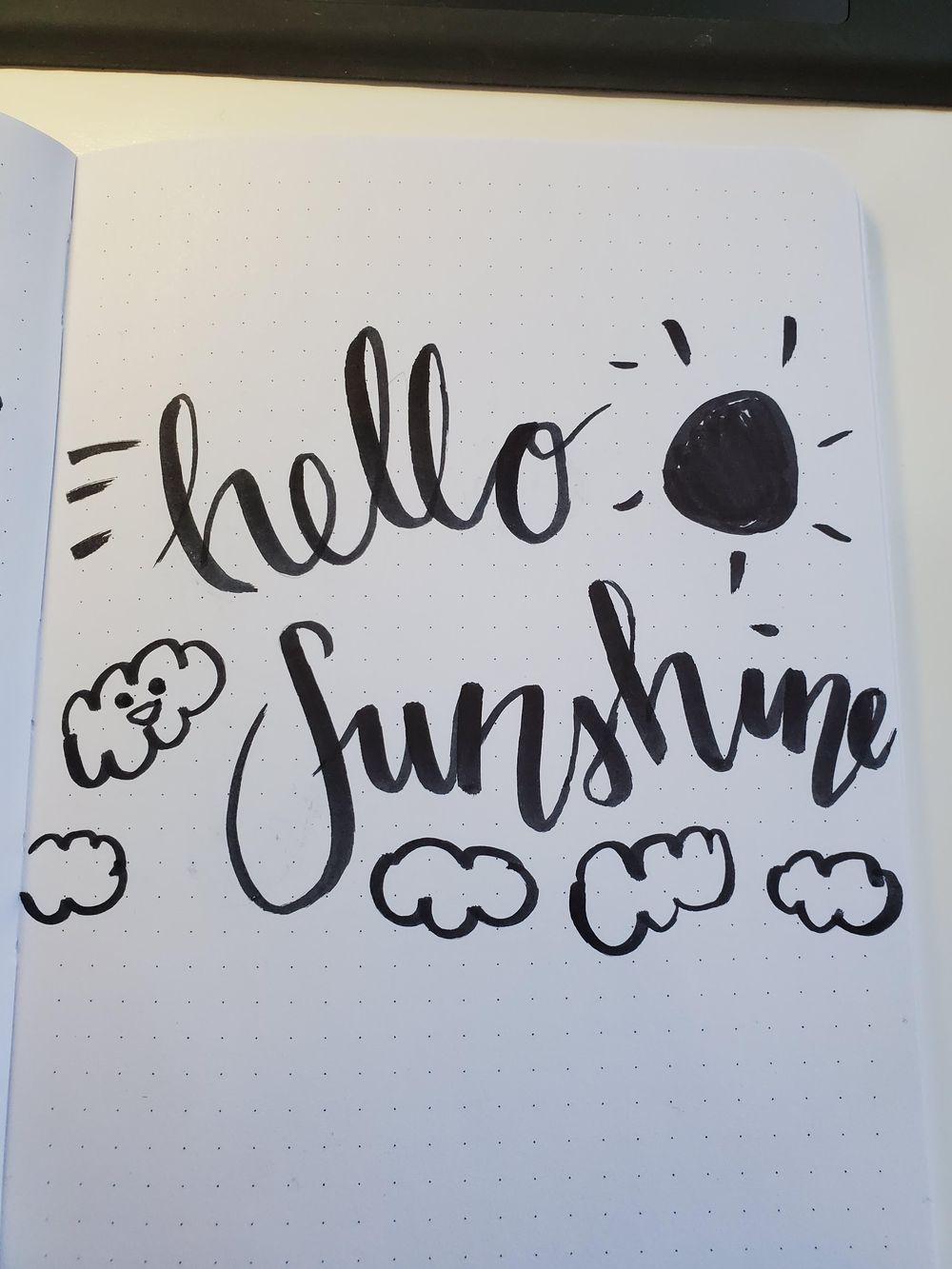 brush lettering basics - image 1 - student project