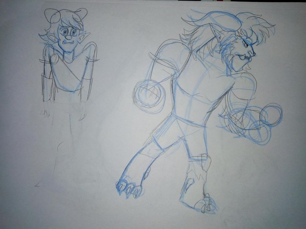 Poses and Two Characters - image 4 - student project