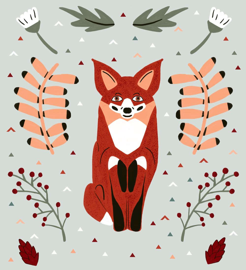 Autumnal fox - image 1 - student project