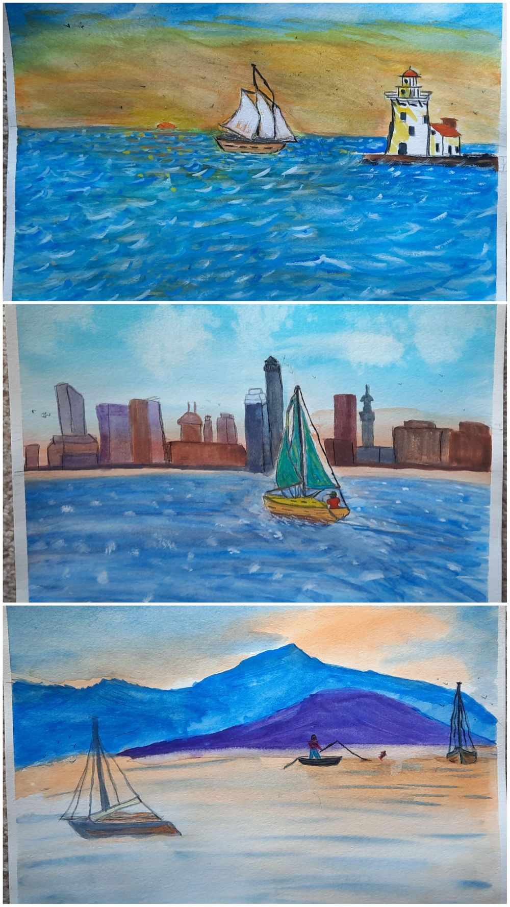 Boats - image 1 - student project