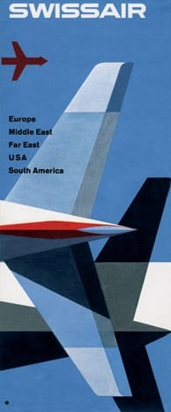 SwissAir Print Ad Reproduction - image 1 - student project