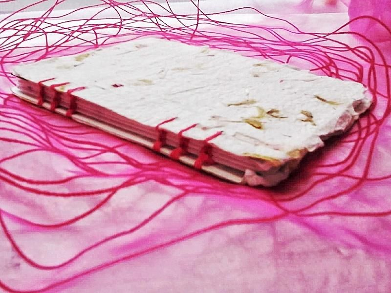 Pink notebook - image 1 - student project