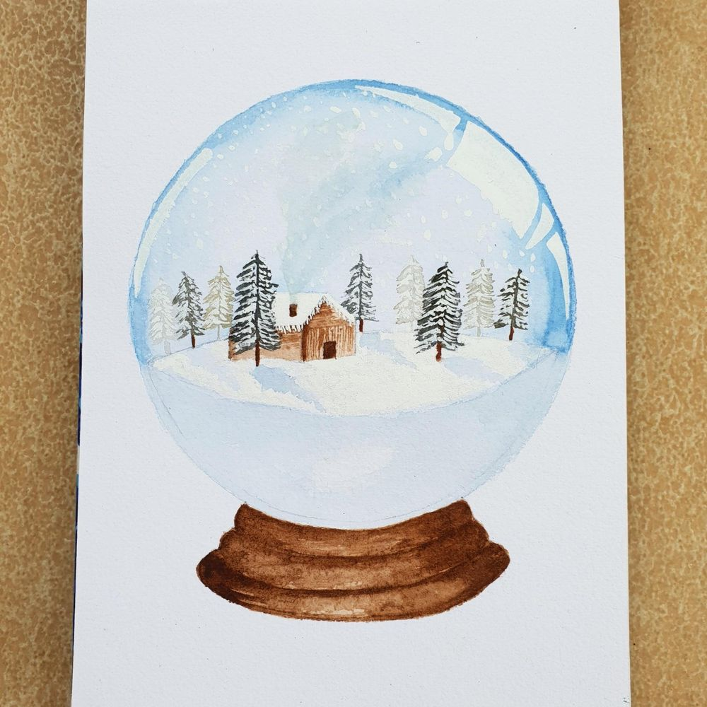 Snow Globe - cabin - image 1 - student project