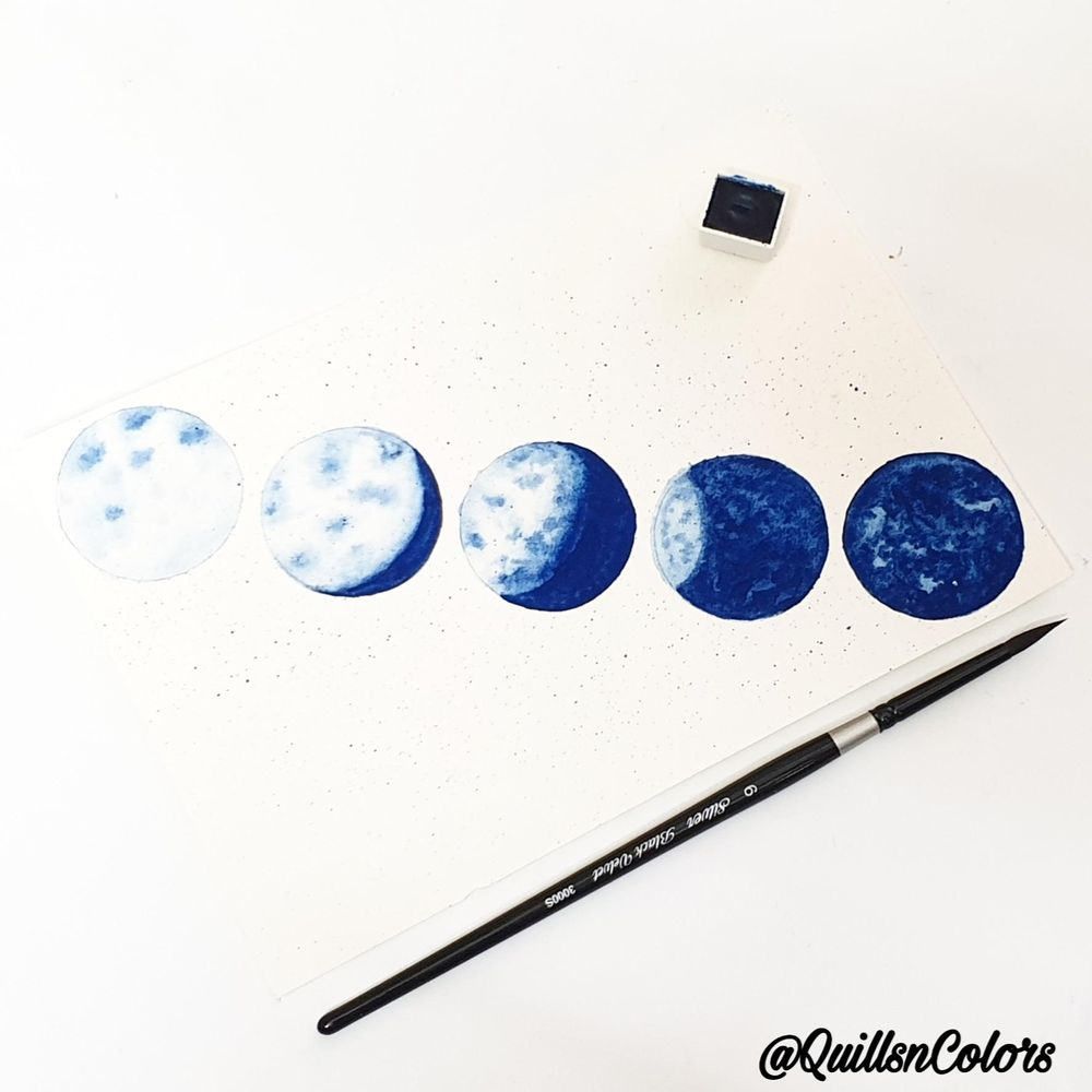 Moon study - image 2 - student project