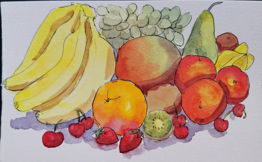 Fruits - image 1 - student project
