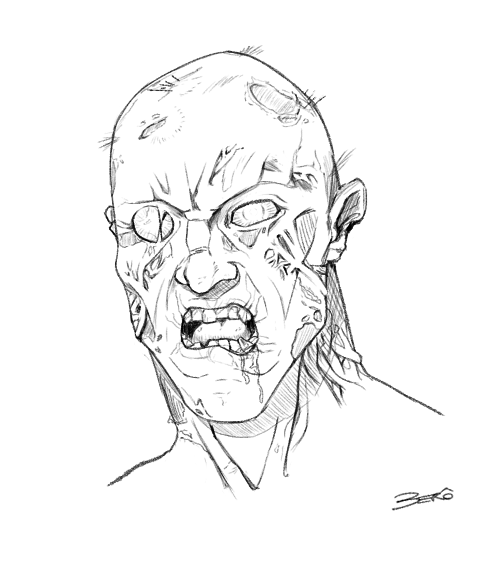 Zombie art - Veronica - image 1 - student project