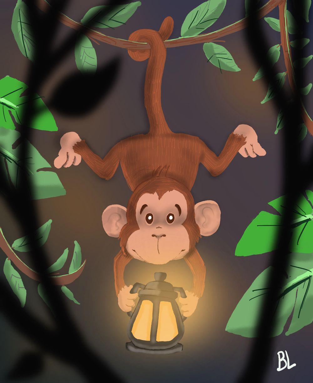 Monkey - image 1 - student project