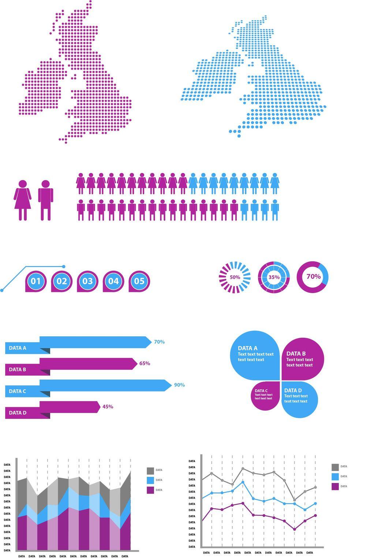 Illustrator: Design Infographic Elements - image 1 - student project
