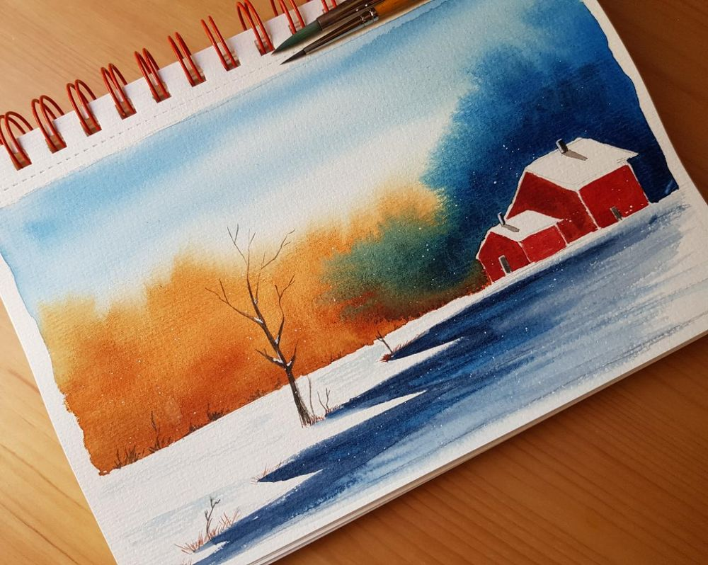 Winter landscapes - image 3 - student project