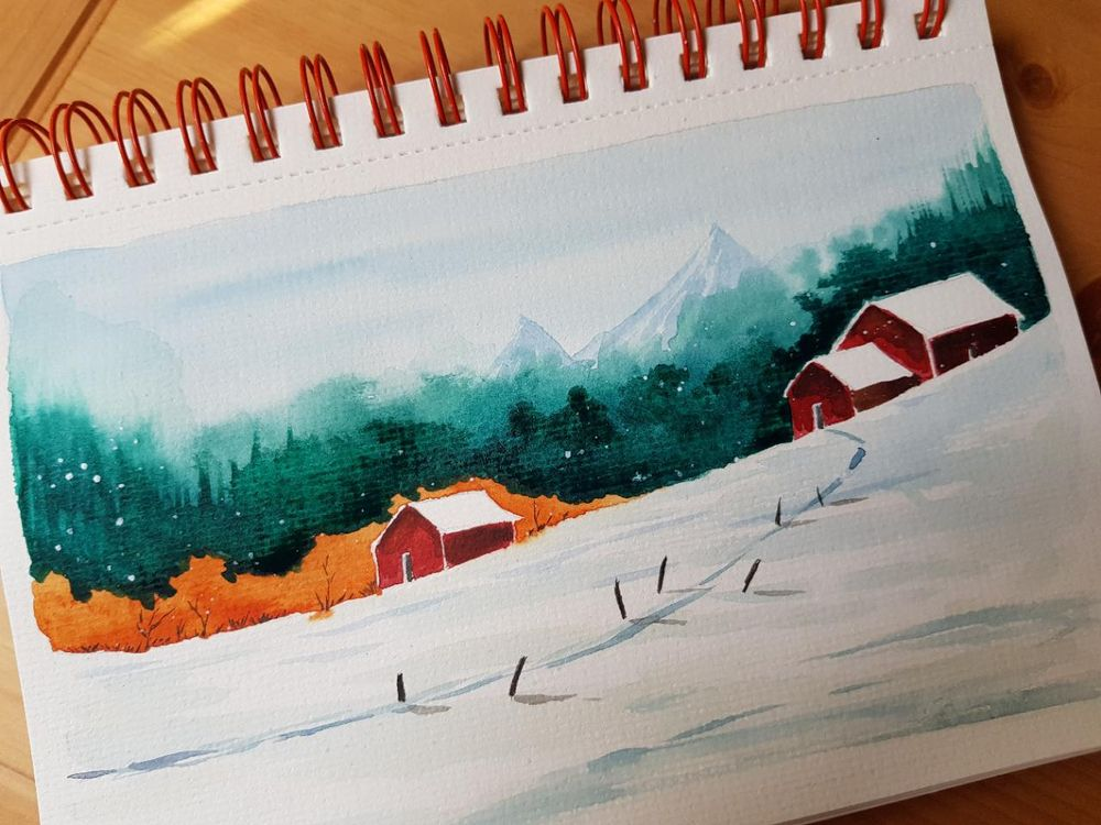 Winter landscapes - image 2 - student project