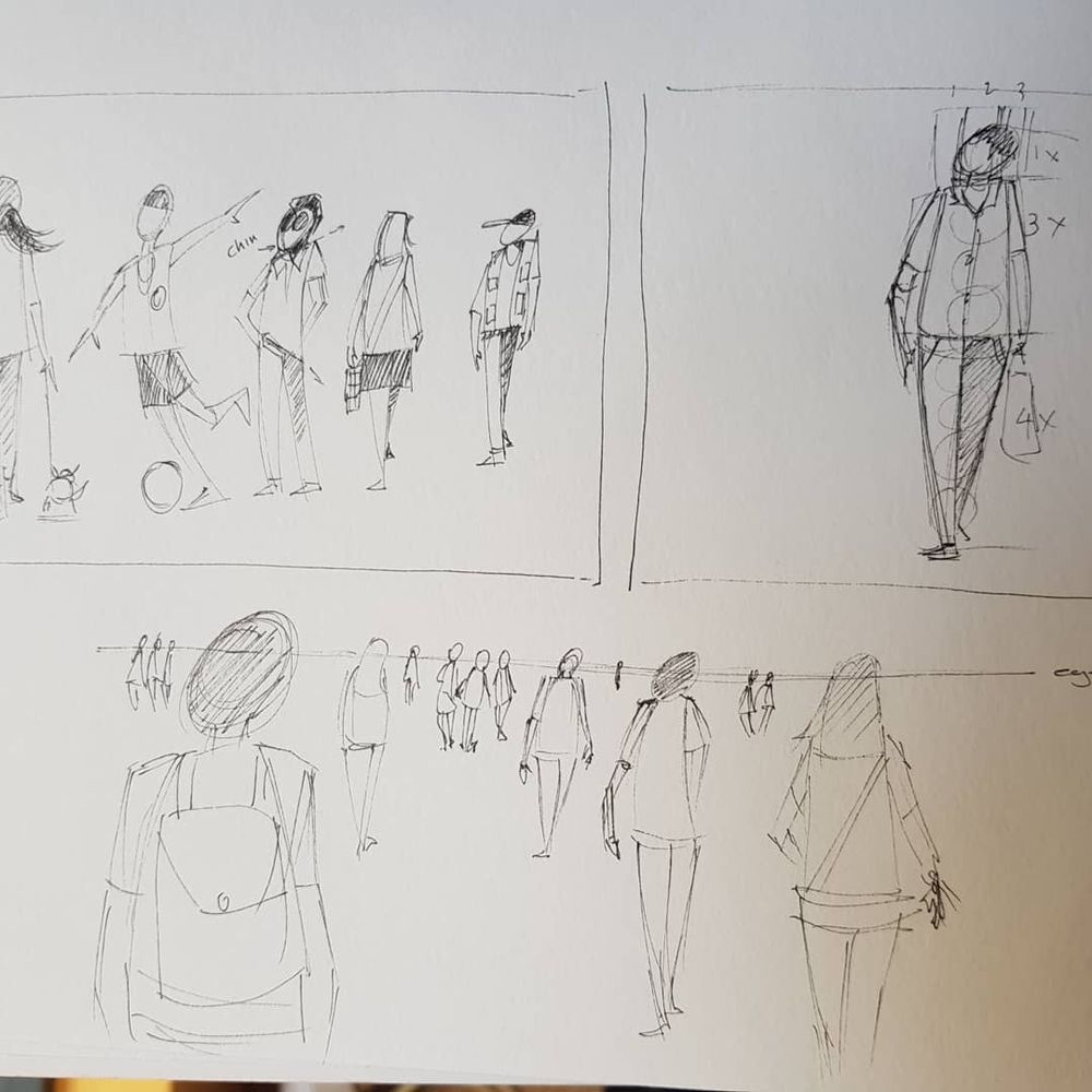 Urban sketches - image 3 - student project