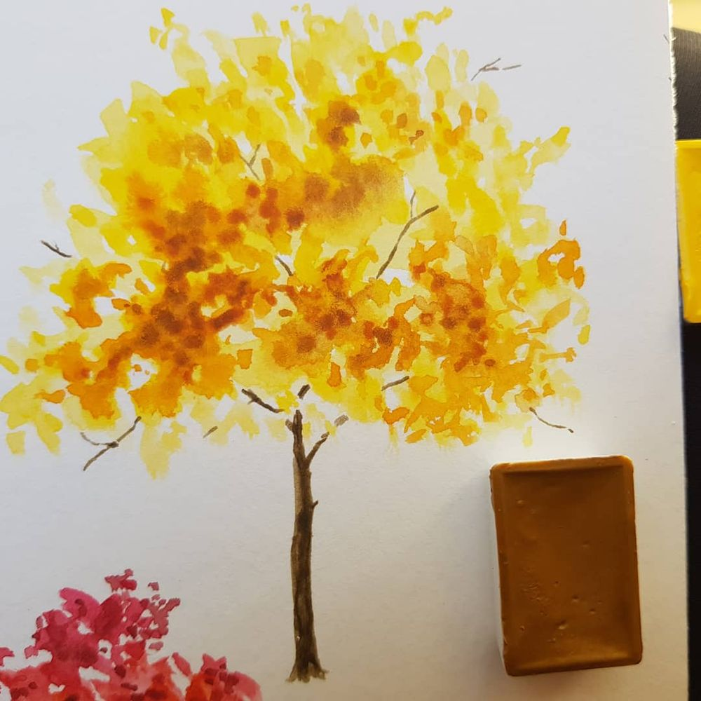 Autumn Trees - image 3 - student project