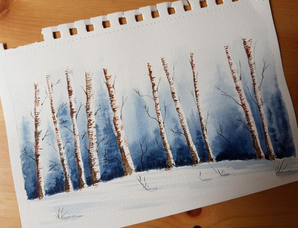 Winter landscapes - image 5 - student project