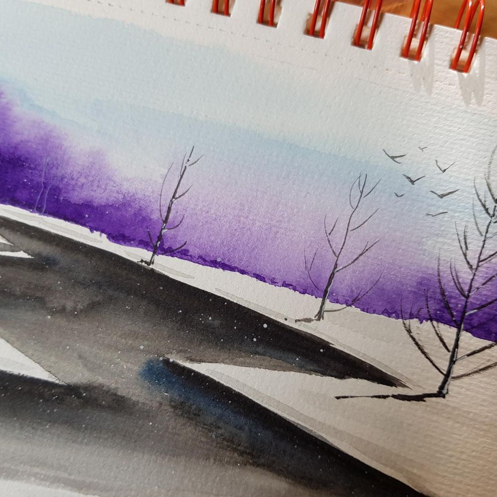 Winter landscapes - image 6 - student project