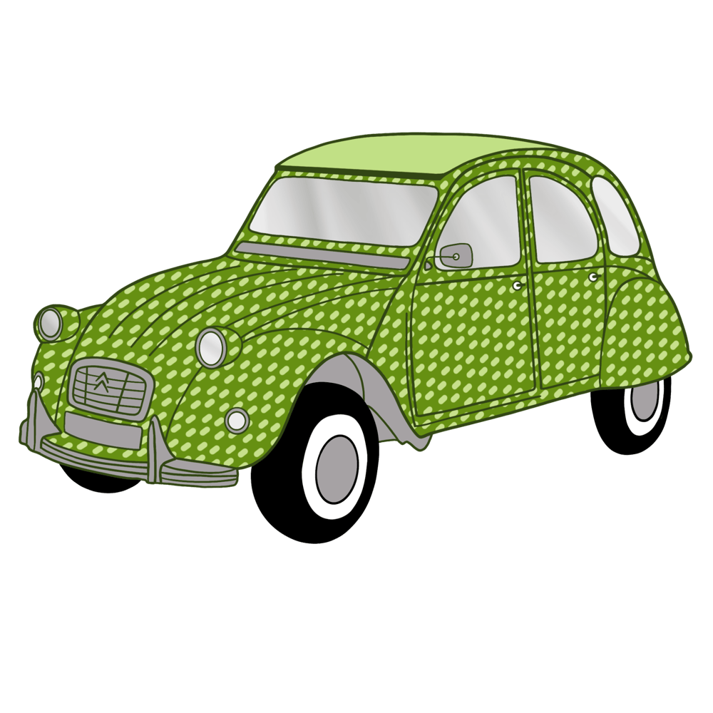 Pattern brushes 101-vintage cars - image 3 - student project