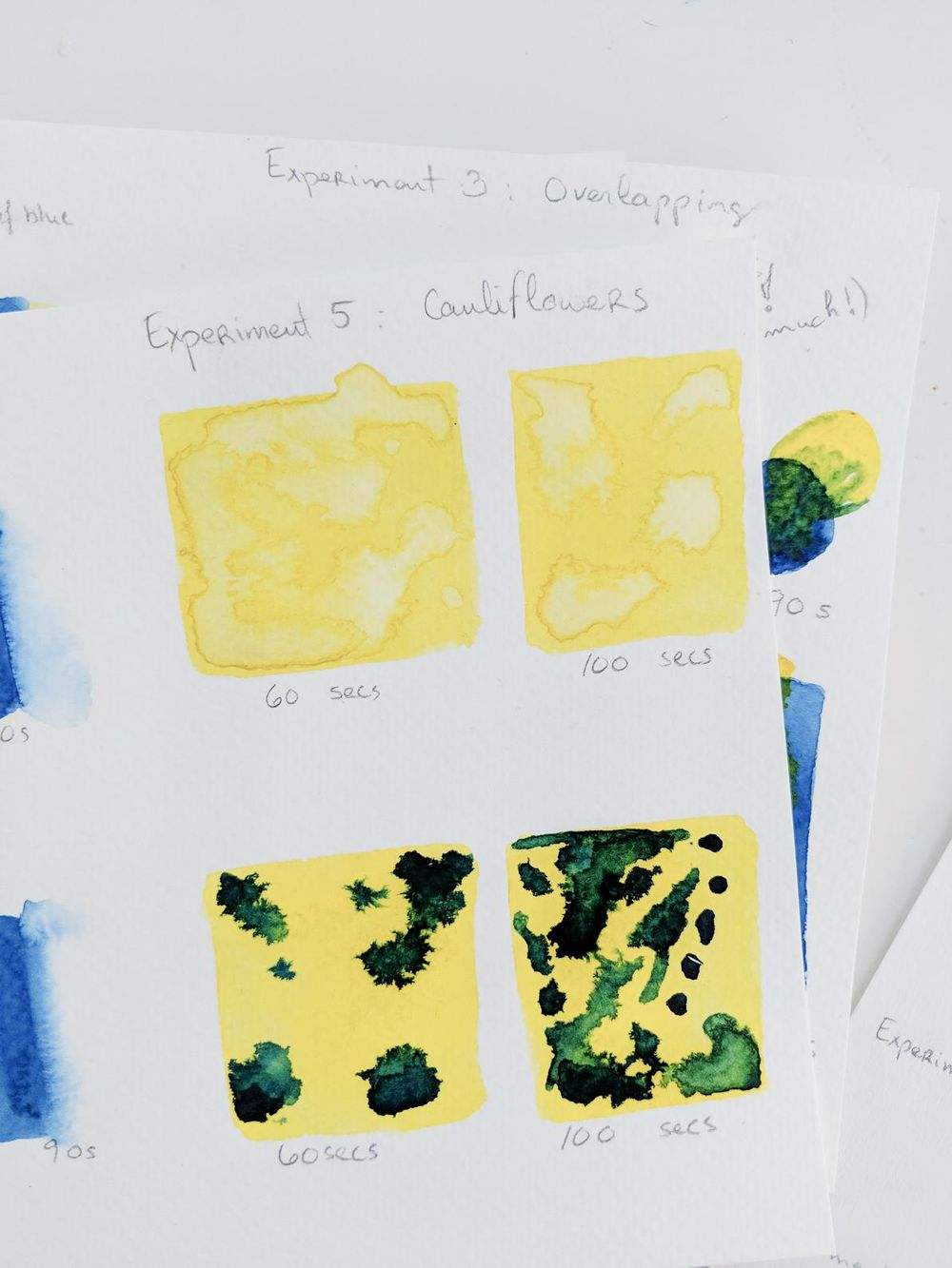 Experiments in watercolors with Ohn Mar Win - image 6 - student project
