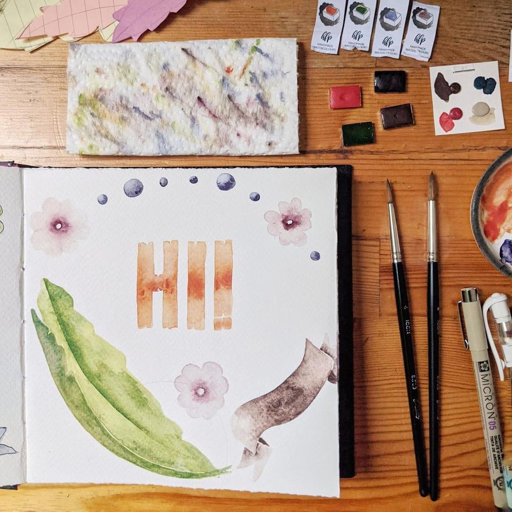 Fileteado Porteno style illustrations - image 2 - student project