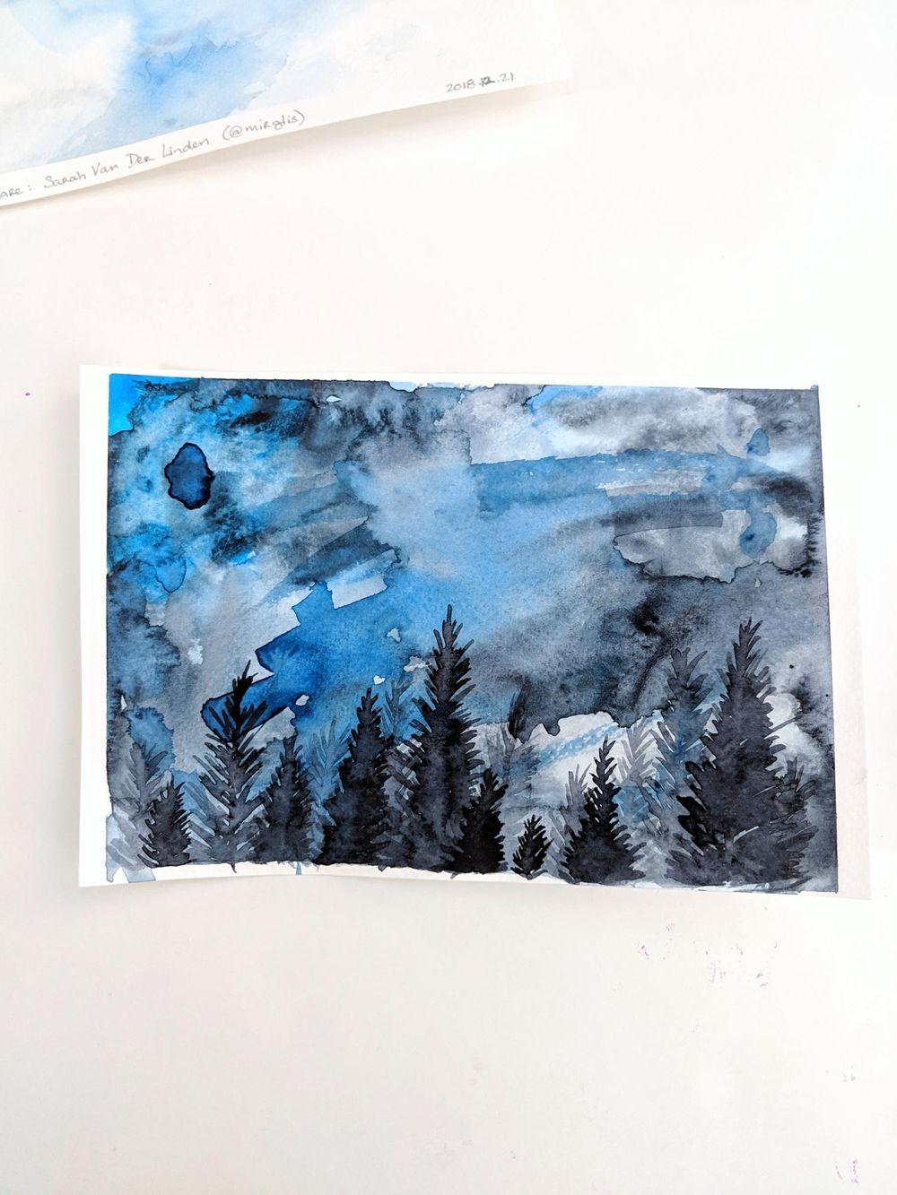Ciels avec Sarah - image 1 - student project